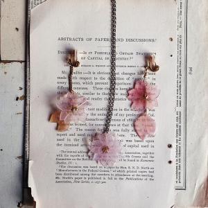 桜?お花?蝶々?レジンアクセサリーで春を感じる
