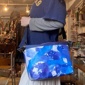 好きな絵でオリジナルの布ができる布デコパージュペーパーバッグです