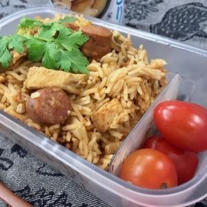 チキンジャンバラヤ弁当