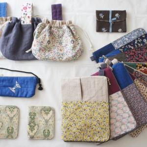 布小物集合写真。 全て販売作品です。