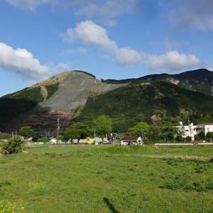 復旧した仙酔峡と小嵐山の道へ