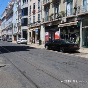 リスボンの人気の路線「ピッカのケーブルカー」