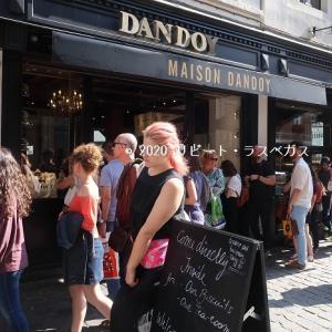 ブリュッセルの老舗菓子店ダンドワのおいしいワッフル