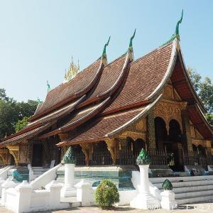 ルアンパバーンを代表する美しい寺院「ワット・シェントーン」