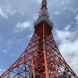 東京タワーから増上寺へ