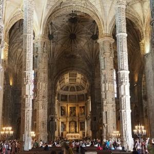 美しいサンタマリア教会(ジェロニモス修道院)