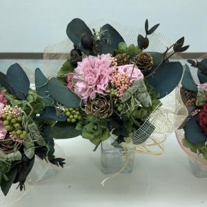朝カル札幌教室の花講習会