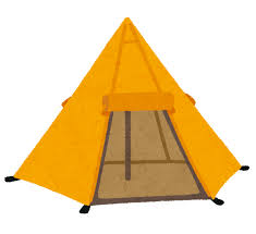 マンション内で「キャンプ」???