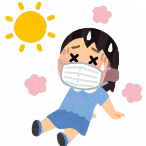 猛暑 室内熱中症 リストをチェックしながら巡回 「声がけ」とかやりたいなあ