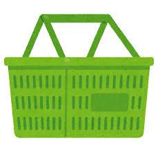 スーパーのカゴ  盗難が増加 (レジ袋有料化の影響)