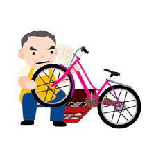 自転車屋さんがつぶれると、管理人が忙しくなる?