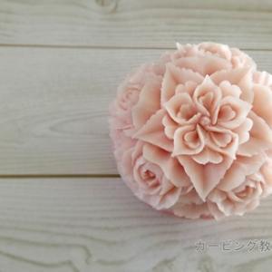 バラが彫りたいって言うので、変化球じゃダメでしょうか。