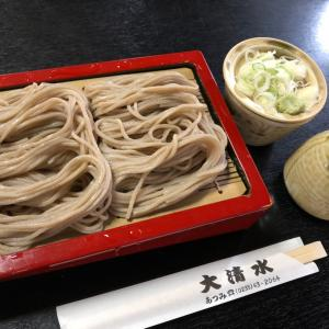 【鶴岡市温海】大清水さんの蕎麦