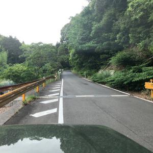 県道27号〜県道192号〜林道へと迷いこむジムニー