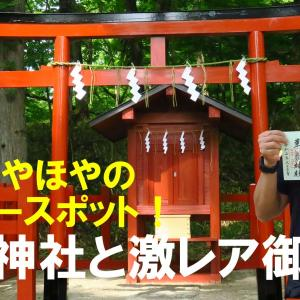 建立ほやほやの新パワースポット!華厳神社と激レア御朱印!