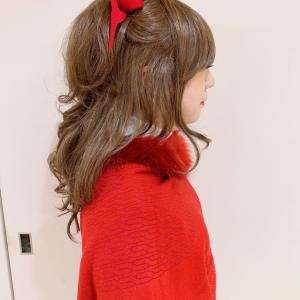 女装家ゆりさんヘアセット