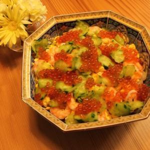 ひな祭りの ちらし寿司