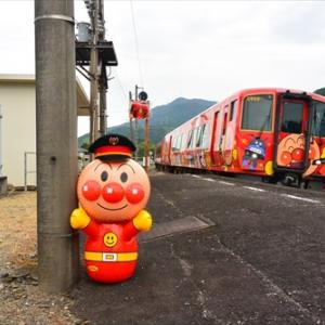 JR讃岐財田駅にて