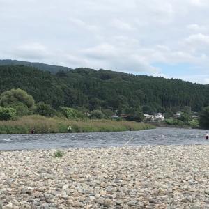 9月22日 那珂川釣行