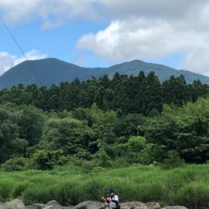 7月12日 那珂川支流釣行