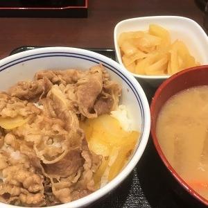 今日の昼食 吉野家「ねぎだく牛丼」