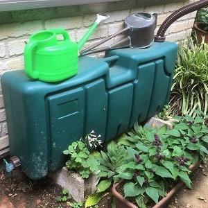 雨水タンクのホースと蛇口を取り換えました