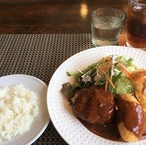 昨日の昼食 百合丘「フローラ」