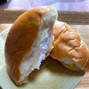 クリームパン食べ比べ セブンイレブン「ダブルクリームパン」