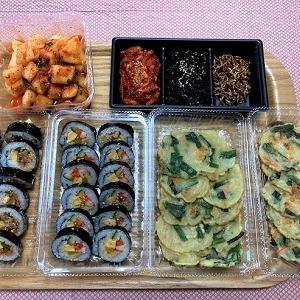 今日の昼食 韓国お惣菜「BZAN  CHAN」