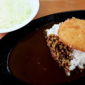 <gourmet>Sガスト コロッケ黒カレー