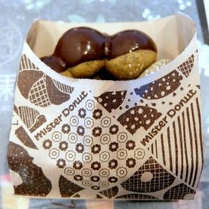 <sweets>ミスタードーナツ ポン・デ・宇治抹茶エンゼル+ポン・デ・ちぎりパン シュガー