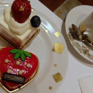 <sweets>ダロワイヨ ケーキビュッフェ