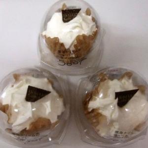 <sweets>ローソン Uchi Café Spécialité 雲泡クリームのショート