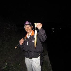 ナマズ釣行 in 蟹江川