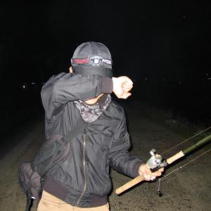 2021今季一発目は三夜連続ナマズ釣行in蟹江川