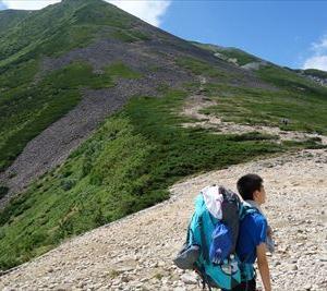 父子山旅~北アルプスの常念岳へ~ #1