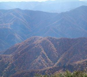 紅葉の百名山「荒島岳」 ~下山編~