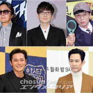 韓国芸能界をリードする子年のスター
