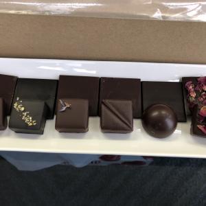 チョコレートの試作品ができました