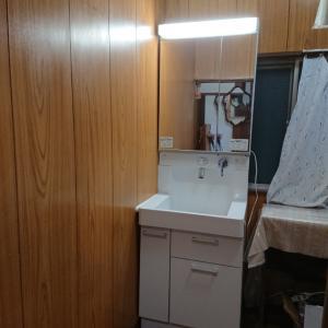 水回りのない部屋に洗面台を