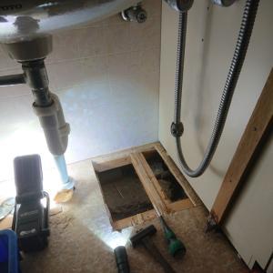 天井へ漏水