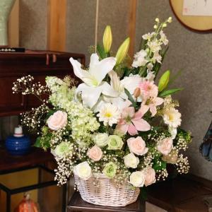プリザーブドの供花
