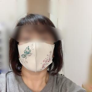 キラキラ スワロフスキーのマスク