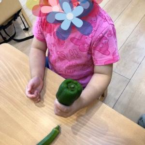 お野菜で♬