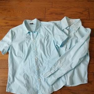 白シャツをダイロンで染める