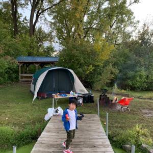2回目のキャンプ