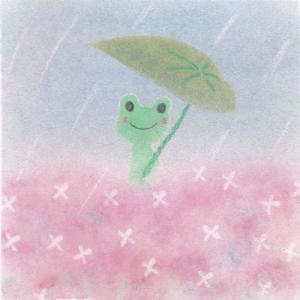梅雨を楽しみましょう♪