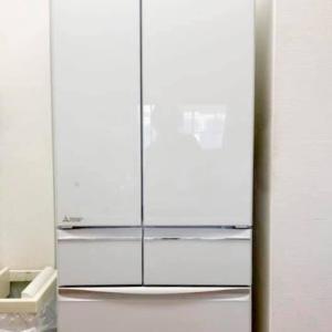 切れちゃう冷凍の三菱冷蔵庫を買いました!