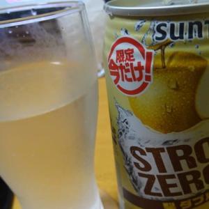SUNTORY STRONG 梨ダブル (*'Ⅴ`*)