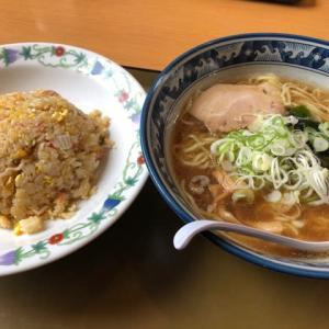 チャーハンセット@らーめん食堂かかし(埼玉県所沢市)(o^^o)